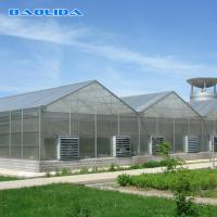 Buy cheap Commercial Polycarbonate Sheet Greenhouse / PC Sheet Greenhouse Customized Material from wholesalers