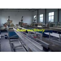 China Wall Panel PVC Profile Extrusion Process 24 - 34kw With Cutting machine on sale