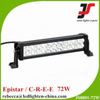 Buy cheap 12 volt led bar light truck accessories 13.5inch 72w led light bar from wholesalers
