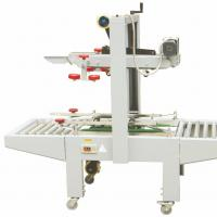 Buy cheap White Automatic Box Taping Machine / Wear Resistance Carton Sample Maker from wholesalers