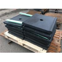 Buy cheap Gray Iron Material Crusher Toggle Plate Customized Size For Ore Mining from wholesalers