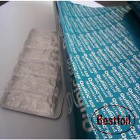 Buy cheap Printed aluminum foil pharmaceutical packing from wholesalers