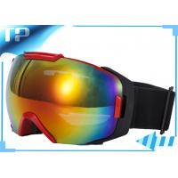 Buy cheap CE Designer Over The Glasses Ski Goggles /  Black Snowboard Goggles For Outdoor from wholesalers