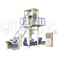 Pvc Heat Shrinkable Film Making Machine Max. Extrusion 30 - 110 Kg / H Manufactures