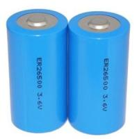 Buy cheap LiSOCI2 3.6v ER26500 ER26500S C size Wireless Clocks non-rechargeable lithium battery from wholesalers
