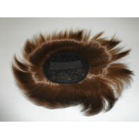 Buy cheap 8 Inch - 9 Inch Synthetic Wigs Accessories Human Hair Toupee For Men from wholesalers