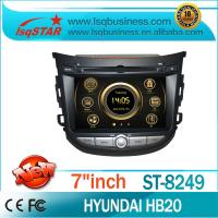 Buy cheap Wide Screen Hyundai DVD Player Built-in BT , Phone Book from wholesalers