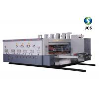 Buy cheap Customized Digital Flexo Printing Machine , High Precision Corrugated Rotary Die Cutter from wholesalers