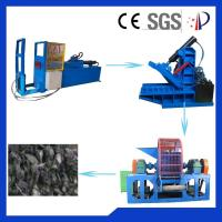 Wholesale Big Capacity Tire Shredding Machine 20 Mesh - 80 Mesh With Double-Roll from china suppliers