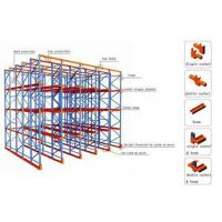 Buy cheap Forklift Heavy Duty Metal Drive in Pallet Rack 1350mm to 3900mm Width from wholesalers