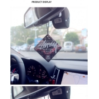 Quality Hunging Absorbent Paper Board Air Freshener Scented Logo Printing for sale