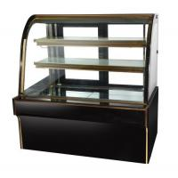 Buy cheap Wholesale single curved glass cake refrigerated showcase counter top chiller case cake display fridge refrigerator for s from wholesalers