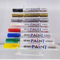 Buy cheap durable tip white color ink oil lacquer make up use paint marker pen from wholesalers