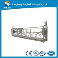 Buy cheap Electric swing stage / steel suspended platform / window cleaning gondola in China from wholesalers