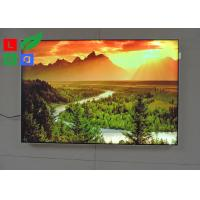 Buy cheap DC 12V / 24V LED Fabric Light Box High Brightness For Garment Clothes Store Display from wholesalers