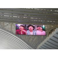 China SMD 3535 1/4 Scan LED Video Billboards, P10 Flexible Led Video Wall on sale