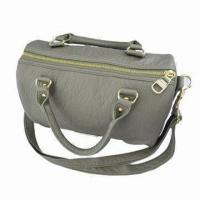 Buy cheap Spacious Leisure Ladies Leather Handbags Shoulder Handbag For Spring Autumn Business Traveling from wholesalers