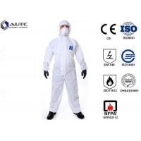Buy cheap Comfortable PPE Safety Wear , Chemical Protective Suit Breathable Optimum Fit from wholesalers