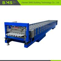 Buy cheap Stable Corrugated Roof Sheet Making Machine , Roof Panel Roll Forming Machine from wholesalers