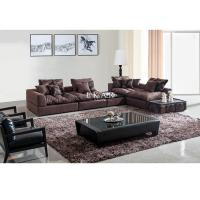 Buy cheap Living Room Couch Linen Fabric Sectional Sofa Set Designs  AW-827 from wholesalers