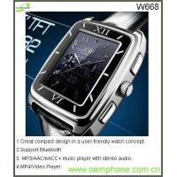 Wholesale W668GSM Original Unlocked Brand New Wrist Watch Mobile Phone from china suppliers