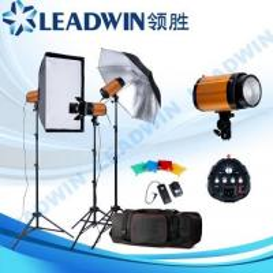 LW-FLK18 LEADWIN studio flash lighting kit