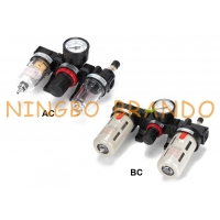 Buy cheap AC BC Series Airtac Type FRL Pneumatic Air Filter Regulator Lubricator from wholesalers