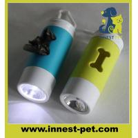 Wholesale Bone shape dog poop bag holder with light from china suppliers