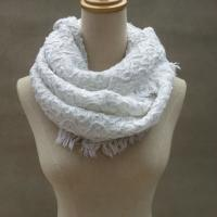Buy cheap Chunky Woven Winter Knitted Scarf Custom Logo Acrylic Warm Crochet Designs from wholesalers