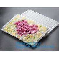 Buy cheap FDA Certified Silicone Mold Companion Cube Container Store Cool Beans Ice Tray Trays with Lid,ice cube tray container,Po from wholesalers