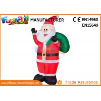 Wholesale Outdoor Advertising Inflatables Santa Christmas Decoration Size Customized from china suppliers