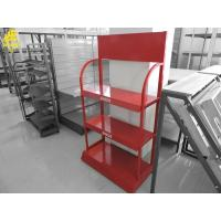 Buy cheap Coca Cola Beverages Display Racks For Grocery ShopRed Colour 100KG/Layer Welded from wholesalers
