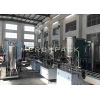 China Small Scale Carbonated Drinks Filling Machine / Carbonated Soft Drinks Bottling Plant on sale