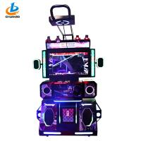 Buy cheap Electronic Acrade Vr Game Machine / Indoor 9D VR Dancing Game Machine from wholesalers