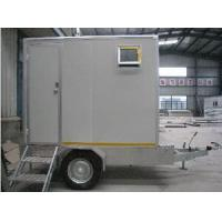 Buy cheap Portable Prefabricated Steel Toilet With Trailer , Sandwich Panel Made Toilet Used Outdoor from wholesalers