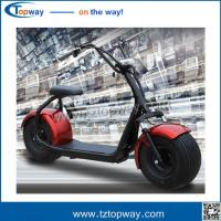 Buy cheap Harley Electric Scooter 800w 1000w seev citycoco 2000w electric scooter with fat bike tire from wholesalers