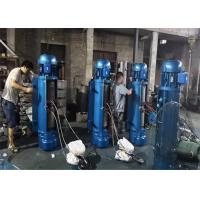 Buy cheap 220/230v Electric Crane Hoist long service life With Heavy Duty Weighted Lift Hook from wholesalers