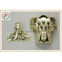 Wholesale Gold Silver Copper PP Or ABS Plastic Casket Corner 1# Leaf Funeral Decoration from china suppliers