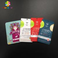 Buy cheap Mylar Pouch Grip Seal Bags Food Grade Storage Cosmetic Tea Powder Sample Giveaway from wholesalers