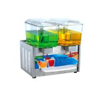 Buy cheap Silver Commercial Juice Dispenser Machine BS330 With Plastic Tank , 459x416x780mm from wholesalers