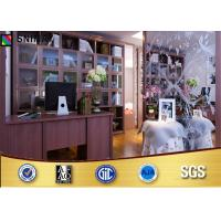 Buy cheap Custom made Wooden Home Office Furniture Book Cabinet With Study Table from wholesalers