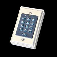 Wholesale Security Door Bell Numeric Password Metal Keypad Reader DC 12V - 24V from china suppliers