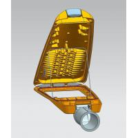 Wholesale UV resisted powder coating IP66 Die casting LED street light housing 5 years warranty from china suppliers
