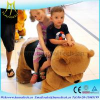 Buy cheap Hansel plush animals mobility scooter and kiddie rides with video games from wholesalers