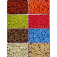 Buy cheap Playground safety 0.5mm-4mm epdm color rubber granule from wholesalers