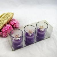 Buy cheap Glass Flower Candle Holder from wholesalers