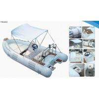 Buy cheap Lightweight Rib Inflatable Boat , Inflatable Tender Boats With UV Resistant Cushion from wholesalers