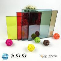 China High quality 10.38mm tempered laminated glass on sale