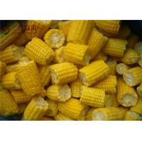 Buy cheap Natural Organic Frozen Vegetables Frozen Sweet Corn / Baby Corn Contains No Cholesterol from wholesalers