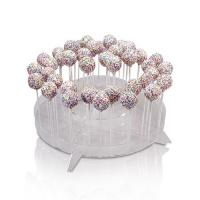 Buy cheap Rounded acrylic display candy holder/acrylic counter top from wholesalers